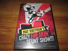 Mat Hoffman's Crazy Freakin' Stunt Show!!! DVD Super Mega Deluxe Collector's Ed.