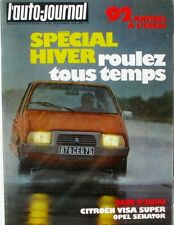 L'Auto-journal n°20-1978-CITROEN VISA-OPEL SENATOR-BMW-VAL MOREL-BANDAMA