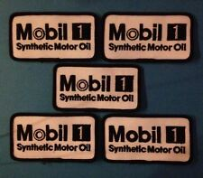 5 Lot Mobil 1 Gas Oil NASCAR Racing Sponsor Hat Jacket Racing Gear Patches B