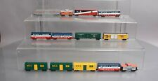 Browser, Atlas, & Other N Scale Assorted Freight Cars: State of Maine, MEC, Amtr
