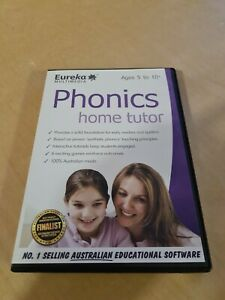 PHONICS HOME TUTOR - PC CD ROM - EUREKA MULTIMEDIA - AGES 5 to 10+ Read & Spell