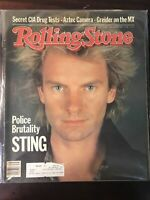 1983 Rolling Stone Magazine ~ Sting ~ The Police