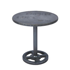 NEW Quirky Rustic Industrial Substation Table, Painted MDF for Steel Look Finish