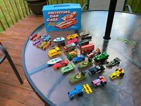 VTG Lot 33 Die Cast Vehicles 9 Tootsie Toys 8 Hot Wheels 13 Matchbox 3 Tintoys