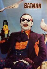 VINTAGE BATMAN POSTER 1989 JOKER JACK NICHOLSON  23X35 TIM BURTON MICHAEL KEATON