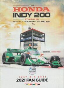 2021 Colton Herta Honda Dallara Mid-Ohio Indy Car Fan Guide