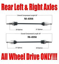New Rear Left and Right Axles for Nissan Murano 2003-2014 All Wheel Drive Models
