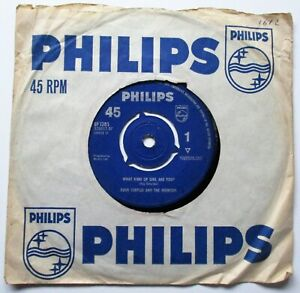 DAVE CURTISS & THE TREMORS   WHAT KIND OF GIRL  ARE YOU? 1963  PHILIPS RECORDS
