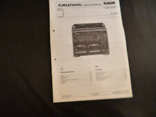 Original Service Manual Grundig  CC210