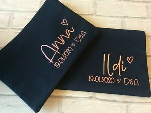 Personalised Bridesmaid Gift: Make Up Bag, Accessory Pouch, Maid of Honour