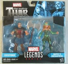 SEALED MOC 2017 MARVEL LEGENDS THE MIGHTY THOR EXECUTIONER AND ENCHANTRESS