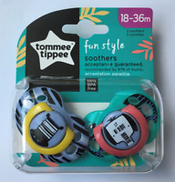 Tommee Tippee Fun Style soothers18-36 months BPA Free