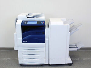Xerox WorkCentre 7830 Color Copy Print Scan Email USB Finisher ~ 7835 7845 7855