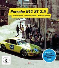 Porsche 911 ST 2.5 Kamerawagen Le Mans-Sieger Buch book incl DVD Speed Merchants