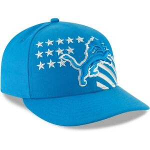 DETROIT LIONS NEW ERA HAT 59FIFTY NFL CITY FLAG FITTED FOOTBALL CAP
