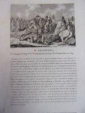 N. BESSIERES Mal d'Empire , Commandant de la garde Impériale, Pressac en 1769