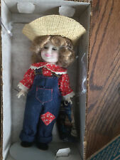 """Vintage 1982 Ideal Shirley Temple Doll Rebecca Of Sunnybrook Farms - 8"""""""