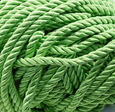 Twisted Drapery Cord KELLY GREEN - 5 YDS - New