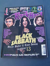 ROCK HARD 2013 133 BLACK SABBATH JEFF HANNEMAN SLAYER TONY IOMMI GEEZER BUTLER Z