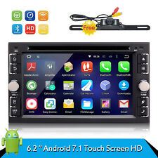 "Android 7.1 Double 2 Din 6.2"" Car Stereo GPS DVD Player Bluetooth Radio 4G WiFi"