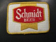 SCHMIDT schmidts pabst vintage classic gold PATCH label craft beer brewery