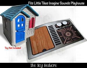 Replacement Stickers fits Little Tikes Imagine Sounds Playhouse Decals Cubby