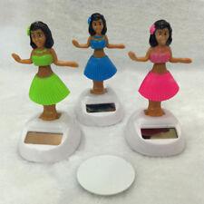 Solar Powered Dancing HAWAIIAN HULA Girl tableau de bord Nouveauté Cadeau Jouet Vendeur Britannique