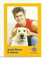 2005 AFL MELBOURNE JARED RIVERS AND HOMER AUSKICK PEDIGREE CARD