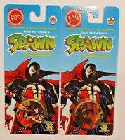 2 SEALED PACKS of 1995 Official Spawn POGS - 14 Pogs + 2 Kini Slammers