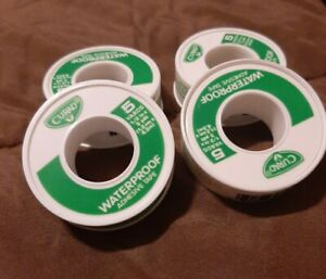 BRAND NEW Lot of 4 CURAD Waterproof Adhesive Tape 5 yards each