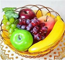 Artificial Plastic Mixed Fruits Pack of 6 Simulation Decorative Display New