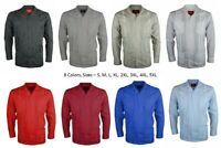 NEW GUAYABERA MEN MEXICAN CUBAN BARTENDER WEDDING LONG SLEEVE CASUAL DRESS SHIRT