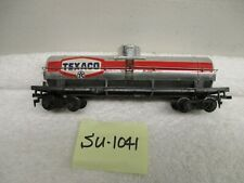 SU-1041 HO TYCO Texaco Chrome Single Dome Tank Car