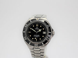 Omega Seamaster 36mm Professional 200M 2850.50.02 Quartz Black Dial SS Watch