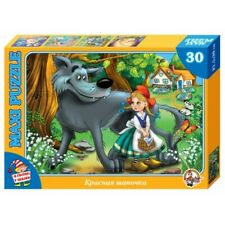 Little Red Riding Hood Maxi Jigsaw Puzzle 30 Elements Fairytale Wolf