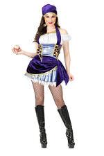 Mystic Gypsy Costume Sexy Gypsy Princess Fourtune Teller Dress Sale Adult 02483