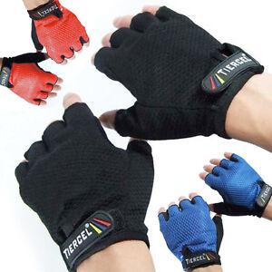 Fitness Gloves Men - Sport Gloves - Fingerless Gloves - No Finger Gloves for Men