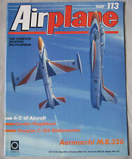 Airplane Issue 113 Aermacchi M.B.326 cutaway & poster, Douglas C-124 Globemaster