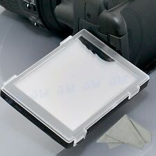 Hard LCD Cover Screen Monitor Protector for Nikon D5100 & Camera Cleaning Cloth