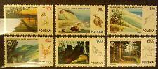 POLAND STAMPS MNH Fi2298-03 Sc2159-64 Mi2445-50 - National Parks, 1976, **