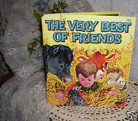 1963 Whitman Book The Very Best of Friends
