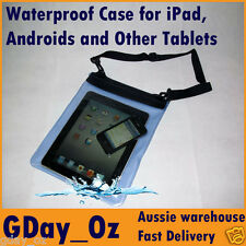Waterproof Case for Android, Galaxy Tab, Motorola Xoom, Kindle, iPad & Tablets