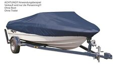 Persenning Bootsabdeckung Bootshaube Boot Schutz  Plane Haube Hülle Angelerboot