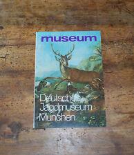 Deutsches Jagdmuseum München Trophäen Jagdwaffen Jagdschmuck Wilderer Buch 071