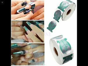 Newest Design Fish Nail Sculpting Forms X 50 Uk Seller