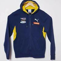 West Coast Eagles Puma Official AFL Hoodie Jacket Zip Up Windbreaker Mens Large