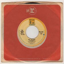 "Beach Boys ""Rock & Roll Music / The T M Song"" NM 45 RPM NM (Reprise 1976)"