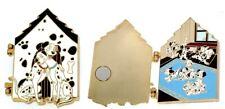 Le 100 Rare Disney Auctions Pin✿101 Dalmatians Pongo Perdita Behind Doors Puppy
