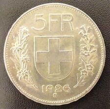 SUISSE - 5 FRANCS 1926 B EN ARGENT