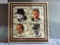 Mozambique 2002 World Leaders  mint never hinged stamps sheet R26084